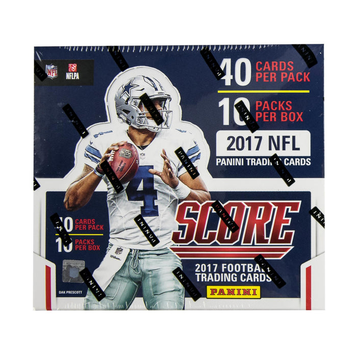 2017 Panini Score Football Hobby Pack-Cherry Collectables