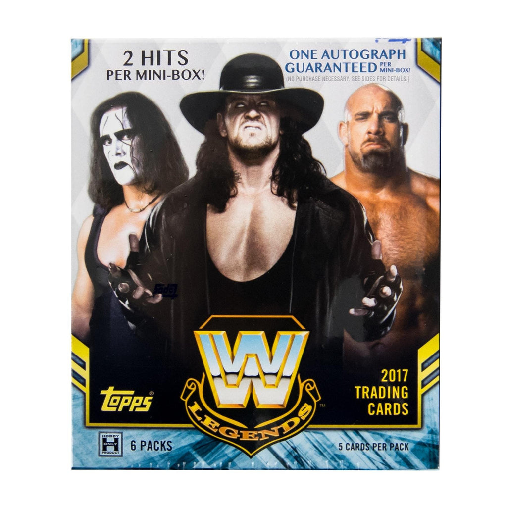 2017 Topps WWE Legends Wrestling Hobby Box-Cherry Collectables