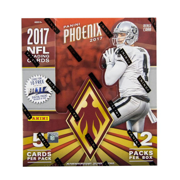 2017 Panini Phoenix Football Hobby Box-Cherry Collectables