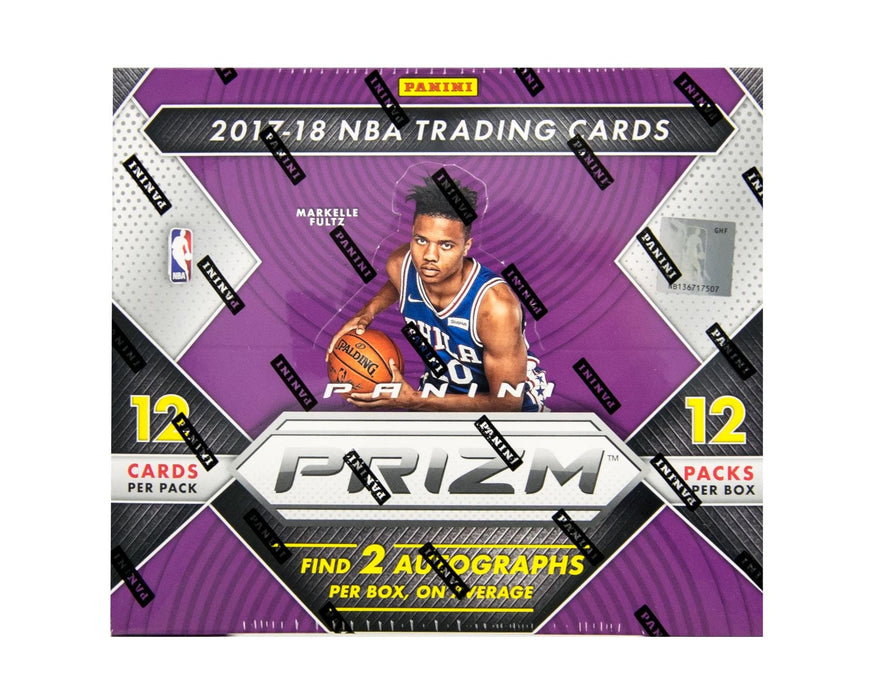 2017-18 Panini Prizm Basketball Hobby Box-Cherry Collectables
