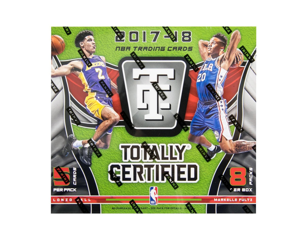 2017-18 Panini Totally Certified Basketball Hobby Box-Cherry Collectables