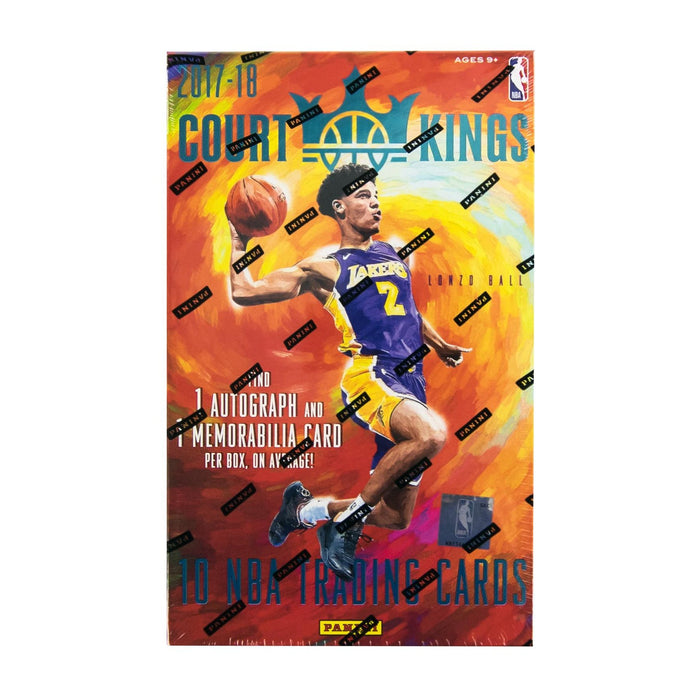 2017-18 Panini Court Kings Basketball Hobby Box-Cherry Collectables