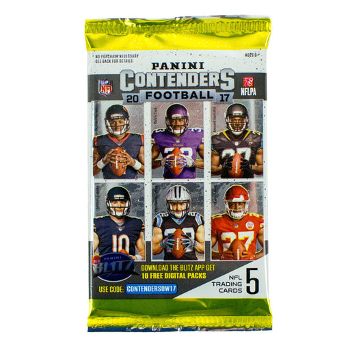 2017 Panini Contenders Football Hobby Pack-Cherry Collectables