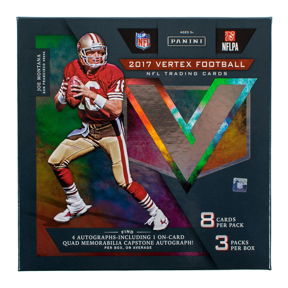 2017 Panini Vertex Football Hobby Box-Cherry Collectables