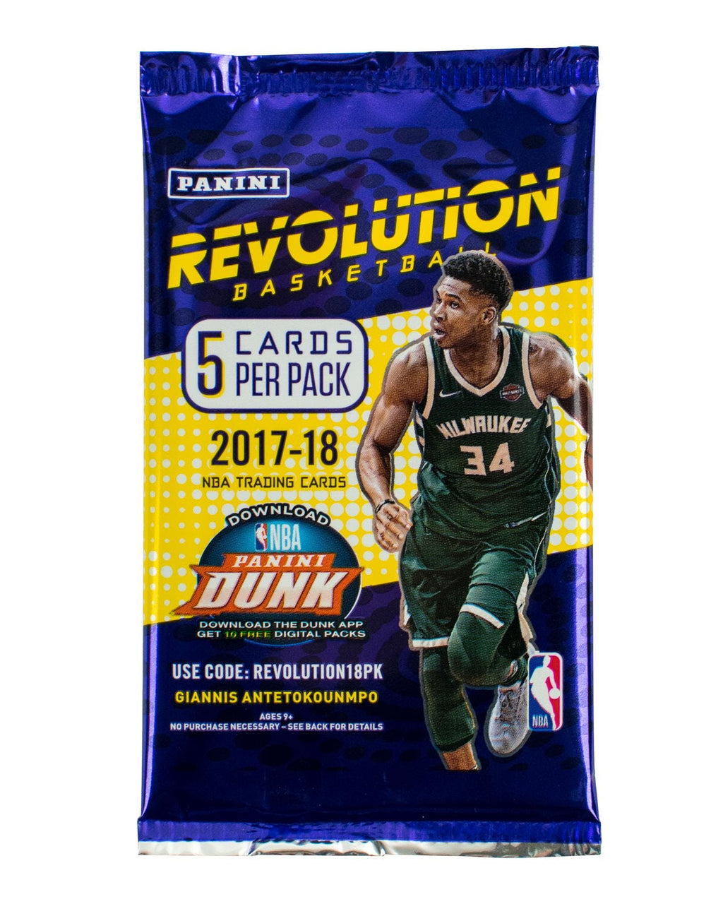 2017-18 Panini Revolution Basketball Hobby Pack-Cherry Collectables