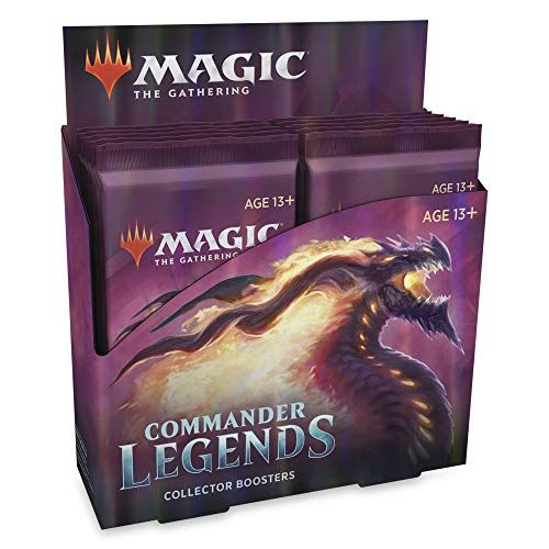 Magic the Gathering Commander Legends Collector Booster Box (Pre Order Nov 20)-Cherry Collectables