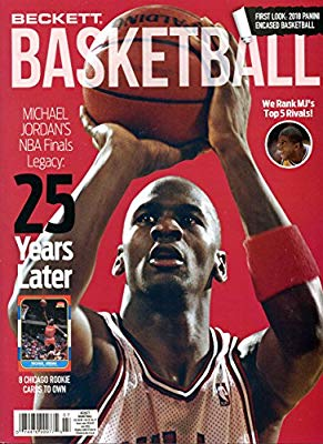 Beckett Basketball Monthly Priceguide Magazine - Michael Jordan - July 2018-Cherry Collectables