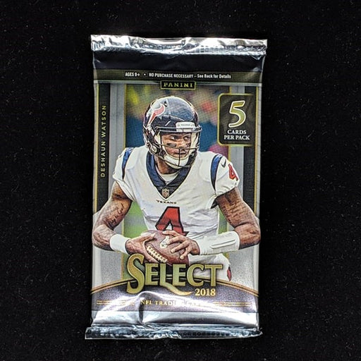 2018 Panini Select Football Hobby Pack-Cherry Collectables