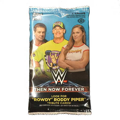 2018 Topps WWE Then Now Forever Hobby Pack-Cherry Collectables