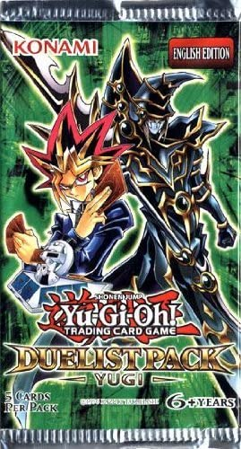 Yu-GI-Oh! Duelist Pack Yugi Booster Pack Unlimited-Cherry Collectables