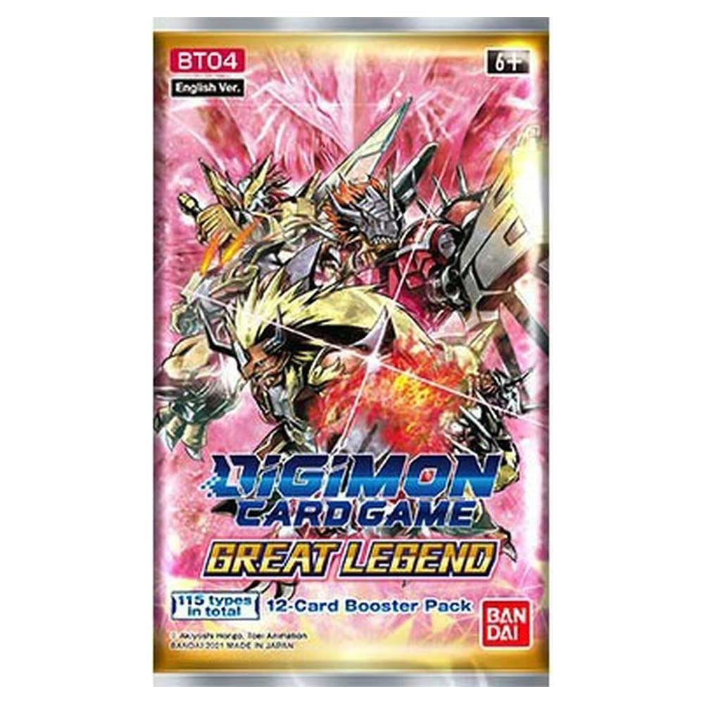 Digimon Card Game Series 04 Great Legend Booster Pack BT04 (Pre Order June)-Cherry Collectables