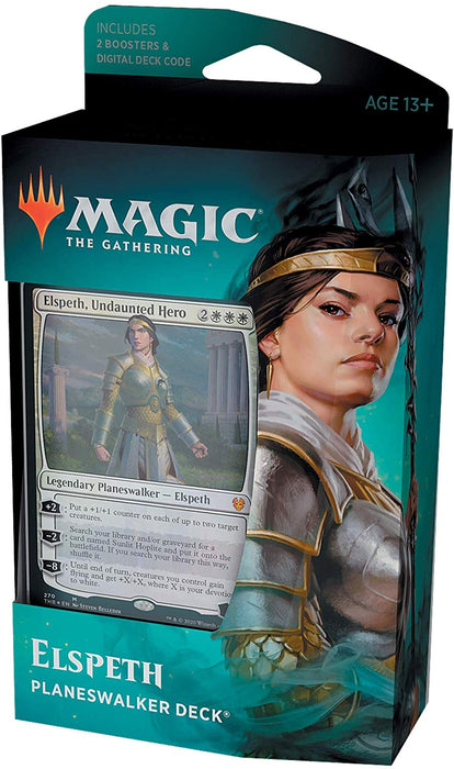 Magic the Gathering Theros Beyond Death Elspeth Undaunted Hero Planeswalker-Cherry Collectables