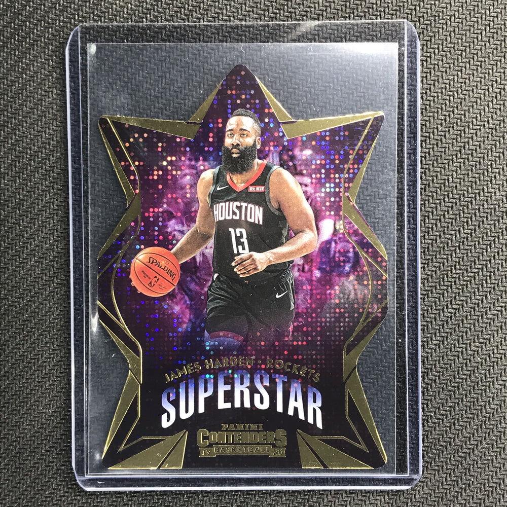 2019-20 Contenders JAMES HARDEN Superstar Diecut #4-Cherry Collectables