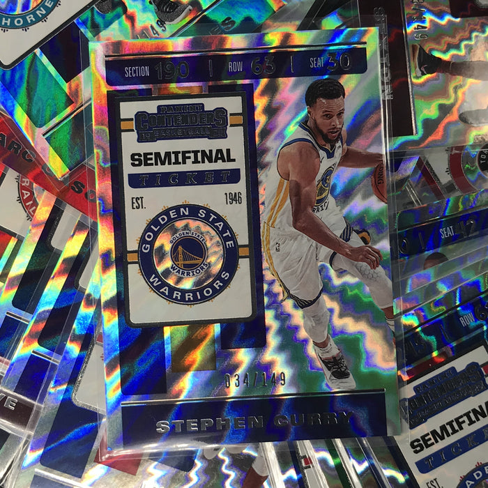 2019-20 Contenders JOSH HART Semifinal Ticket 71/149-Cherry Collectables