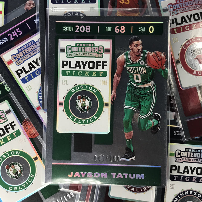 2019-20 Contenders JOHN COLLINS Playoff Ticket 97/199-Cherry Collectables