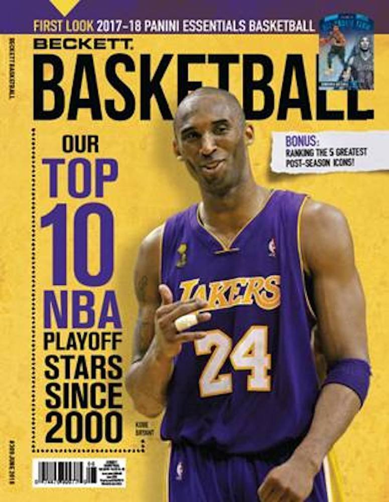 Beckett Basketball Monthly Priceguide Magazine - Kobe Bryant - June 2018-Cherry Collectables