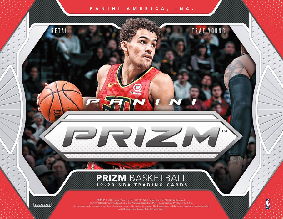 2019-20 Panini Prizm Basketball Retail Box-Cherry Collectables