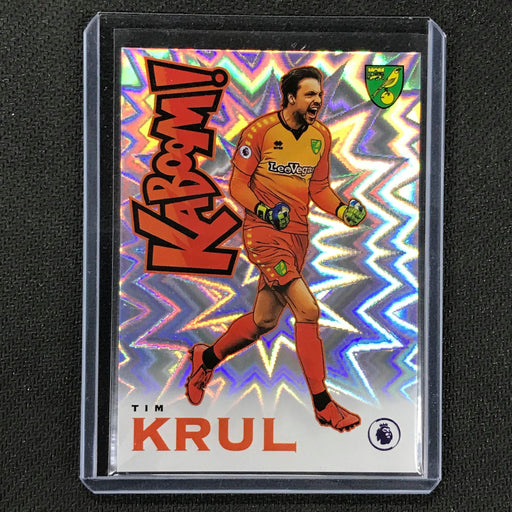 2019-20 Prizm EPL TIM KRUL Kaboom Case Hit SSP #19-Cherry Collectables
