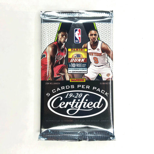 2019-20 Panini Certified Basketball Hobby Pack-Cherry Collectables