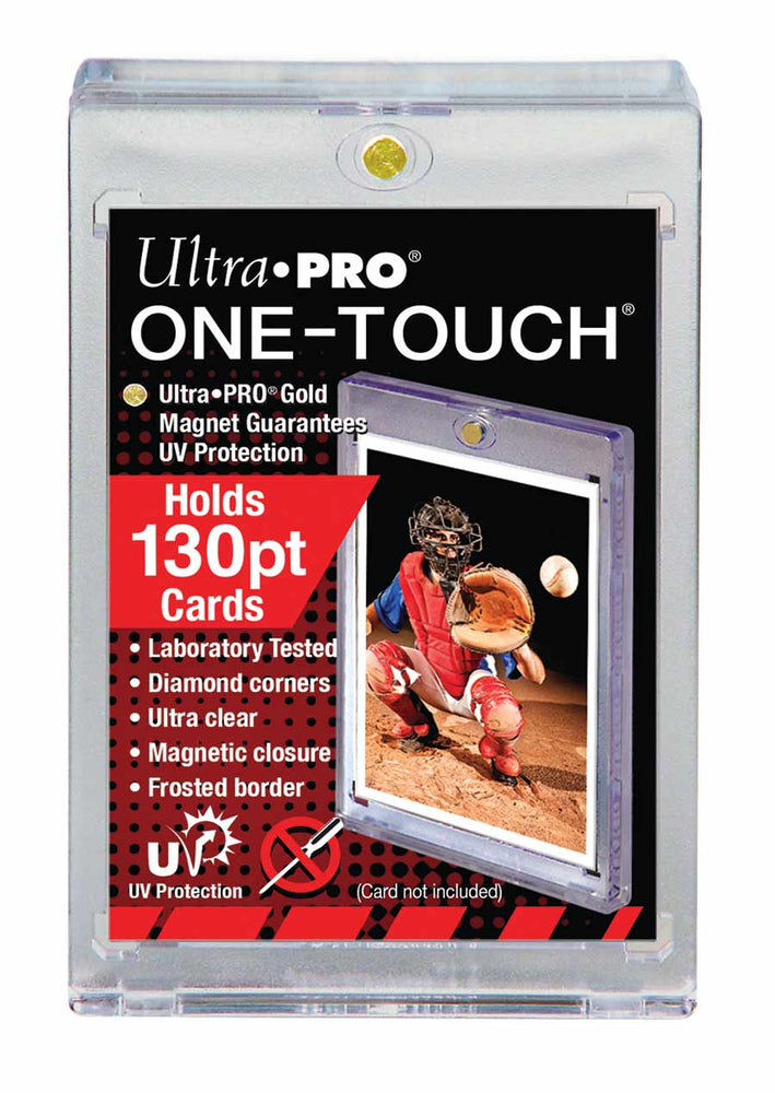 Ultra Pro 130pt. Magnetic One Touch Card Holder-Cherry Collectables
