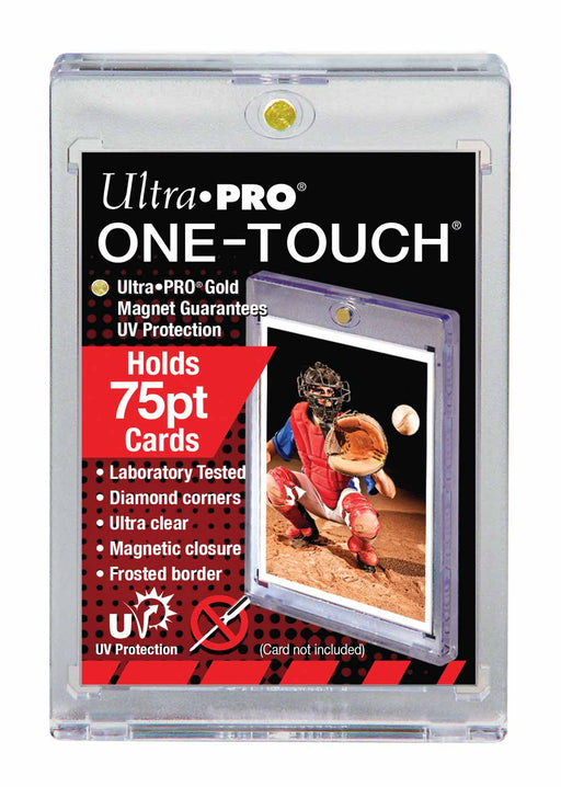 Ultra Pro 75pt. Magnetic One Touch Card Holder-Cherry Collectables