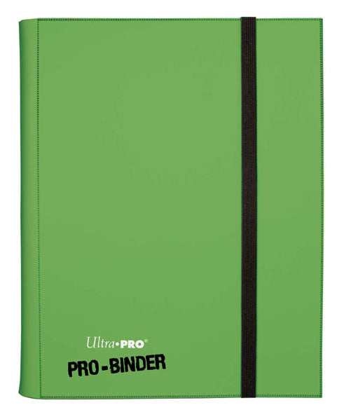 Ultra PRO 9 Pocket Folder - Light Green-Cherry Collectables