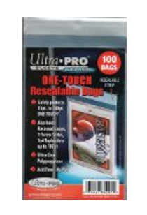 ONE-TOUCH Resealable Bag - Resealable - 100 Per Pack-Cherry Collectables
