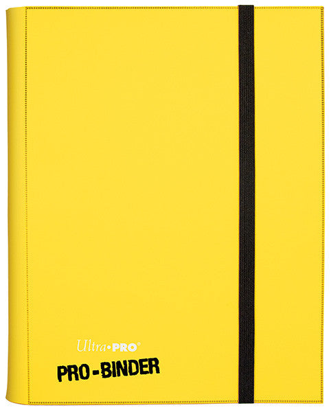 Ultra PRO 9 Pocket Folder - Yellow-Cherry Collectables