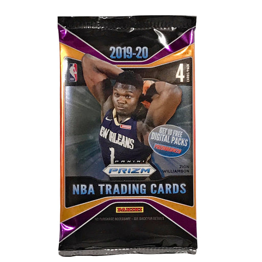 2019-20 Panini Prizm Basketball Retail Pack-Cherry Collectables