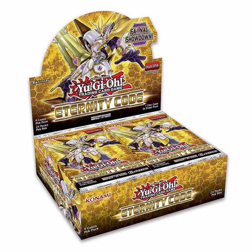 Yu-Gi-Oh! TCG Eternity Code 1st Edition Booster Box-Cherry Collectables