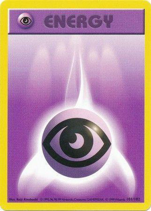 Psychic Energy - 101/102 - Common Shadowless-Cherry Collectables