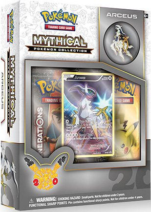 Mythical Pokemon Collection - Arceus Pin Box-Cherry Collectables