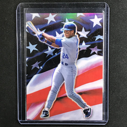 2020 Donruss Optic KEN GRIFFEY JR. Stars and Stripes SSP #5-Cherry Collectables