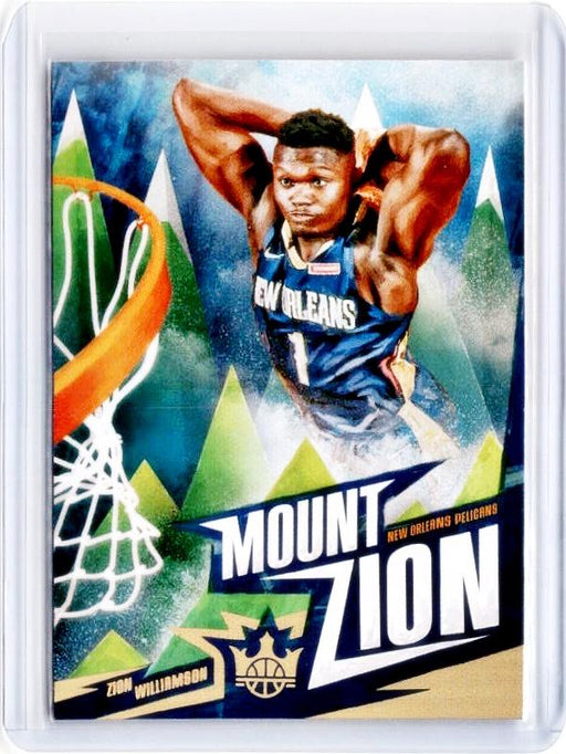 2019-20 Court Kings ZION WILLIAMSON Mount Zion Rookie SSP Case Hit-Cherry Collectables