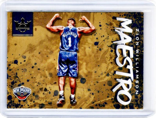 2019-20 Court Kings ZION WILLIAMSON Maestro #19-Cherry Collectables