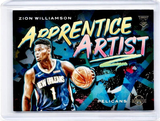 2019-20 Court Kings ZION WILLIAMSON Apprentice Artist Rookie #9-Cherry Collectables