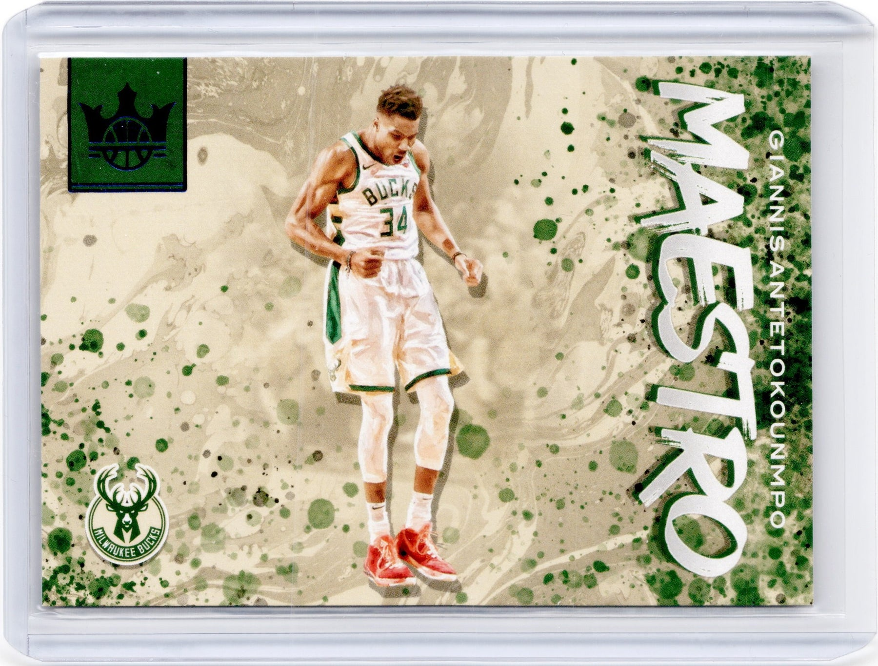2019-20 Court Kings GIANNIS ANTETOKOUNMPO Maestro Sapphire 19/25-Cherry Collectables