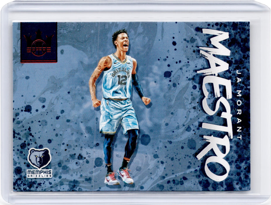 2019-20 Court Kings JA MORANT Maestro Ruby 80/149-Cherry Collectables