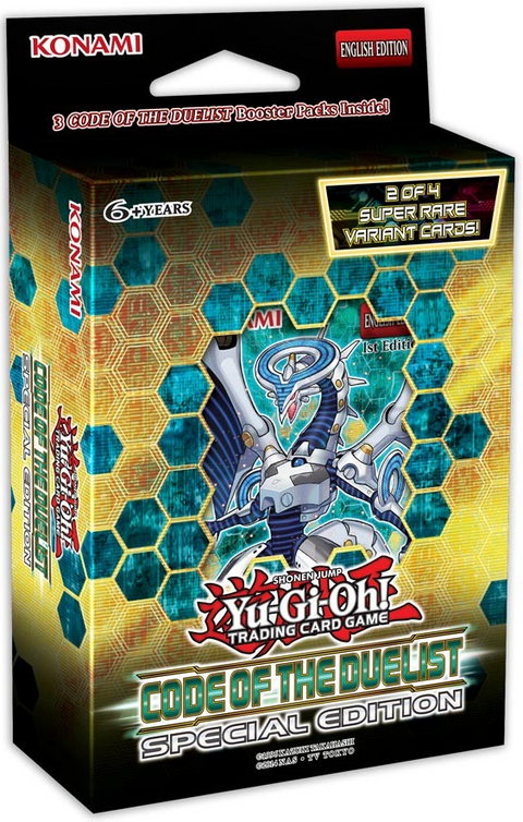 The Code of the Duelist Special Edition Pack [Pre Order Sept]-Cherry Collectables