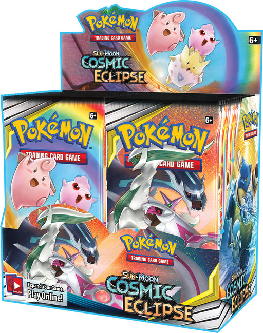 Pokemon TCG Sun & Moon Cosmic Eclipse Booster Box-Cherry Collectables