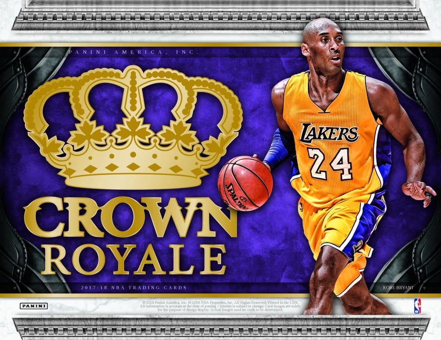 17-18 Panini Crown Royale 2-Box Break #2810 - Random Team - Apr 8 (5pm)-Cherry Collectables