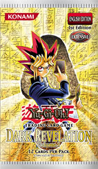 Yu-Gi-Oh! TCG 2004 Dark Revelation Volume 1 Booster Pack-Cherry Collectables
