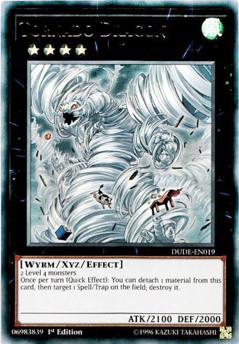 Tornado Dragon - DUDE-EN019 - Ultra Rare-Cherry Collectables