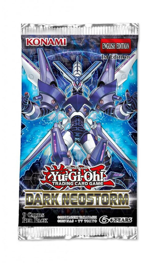 Yu-Gi-Oh! TCG Dark Neostorm Booster Pack-Cherry Collectables