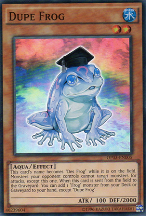Dupe Frog - OP03-EN005 - Super Rare-Cherry Collectables