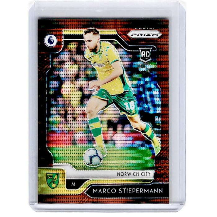 2019-20 Prizm EPL Breakaway Soccer MARCO STIEPERMANN Rookie Bronze Prizm 5/20-Cherry Collectables