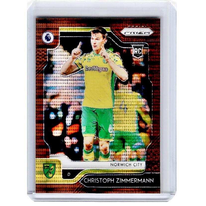 2019-20 Prizm EPL Breakaway Soccer CHRISTOPH ZIMMERMANN Rookie Bronze 19/20-Cherry Collectables