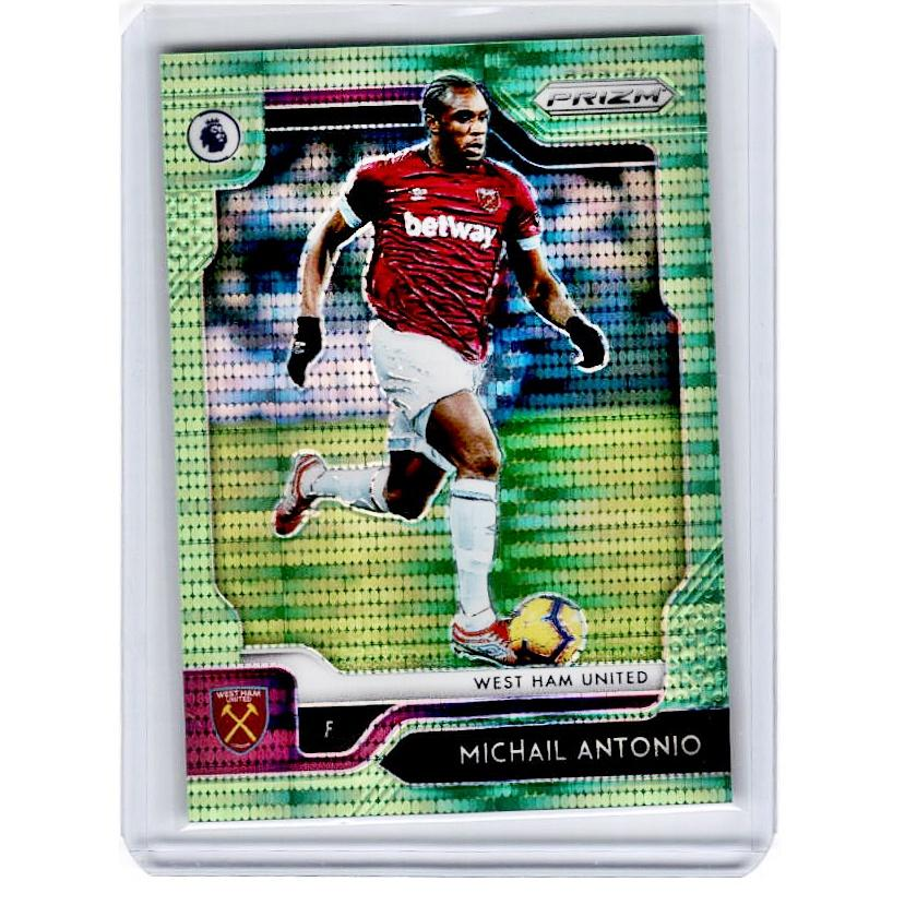 2019-20 Prizm EPL Breakaway Soccer MICHAIL ANTONIO Green Prizm 4/5-Cherry Collectables