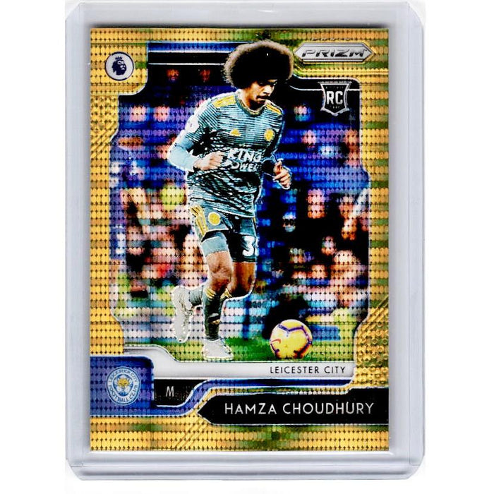 2019-20 Prizm EPL Breakaway Soccer HAMZA CHOUDHURY Rookie Gold Prizm 3/10-Cherry Collectables