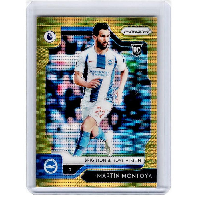 2019-20 Prizm EPL Breakaway Soccer MARTIN MONTOYA Rookie Gold Prizm 1/10-Cherry Collectables